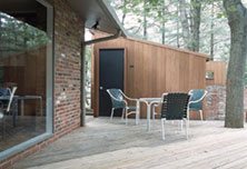 Shed Facade Deck